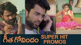 Geetha Govindam Super Hit Promos Back To Back | Vijay Deverakonda | Rashmika | #GeethaGovindam