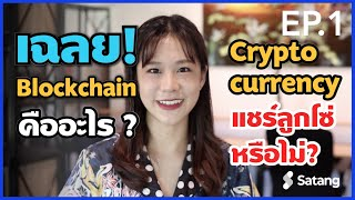Satang education ep1 : Cryptocurrency และ Blockchain คืออะไร? by น้อง Turtle