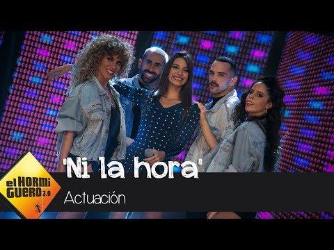 Ana Guerra revoluciona el plató cantando en directo † Ni la hora † - El Hormiguero 3.0