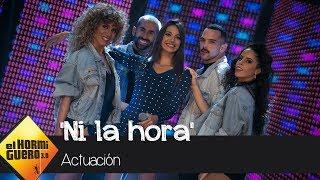 Ana Guerra revoluciona el plató cantando en directo 'Ni la hora' - El Hormiguero 3.0