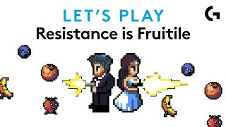 PULPED FICTION - Twin-stick co-op action - Resistance is Fruitile let's play