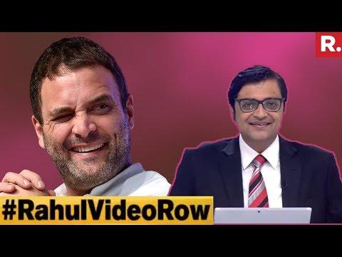 Who Do You Back: Rahul Gandhi Or Prof PK Basu? | The Debate With Arnab Goswami