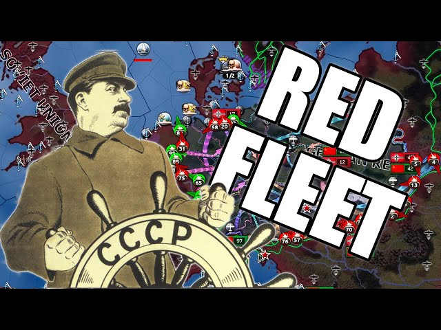 Red Fleet takes over the World in Hearts of Iron 4