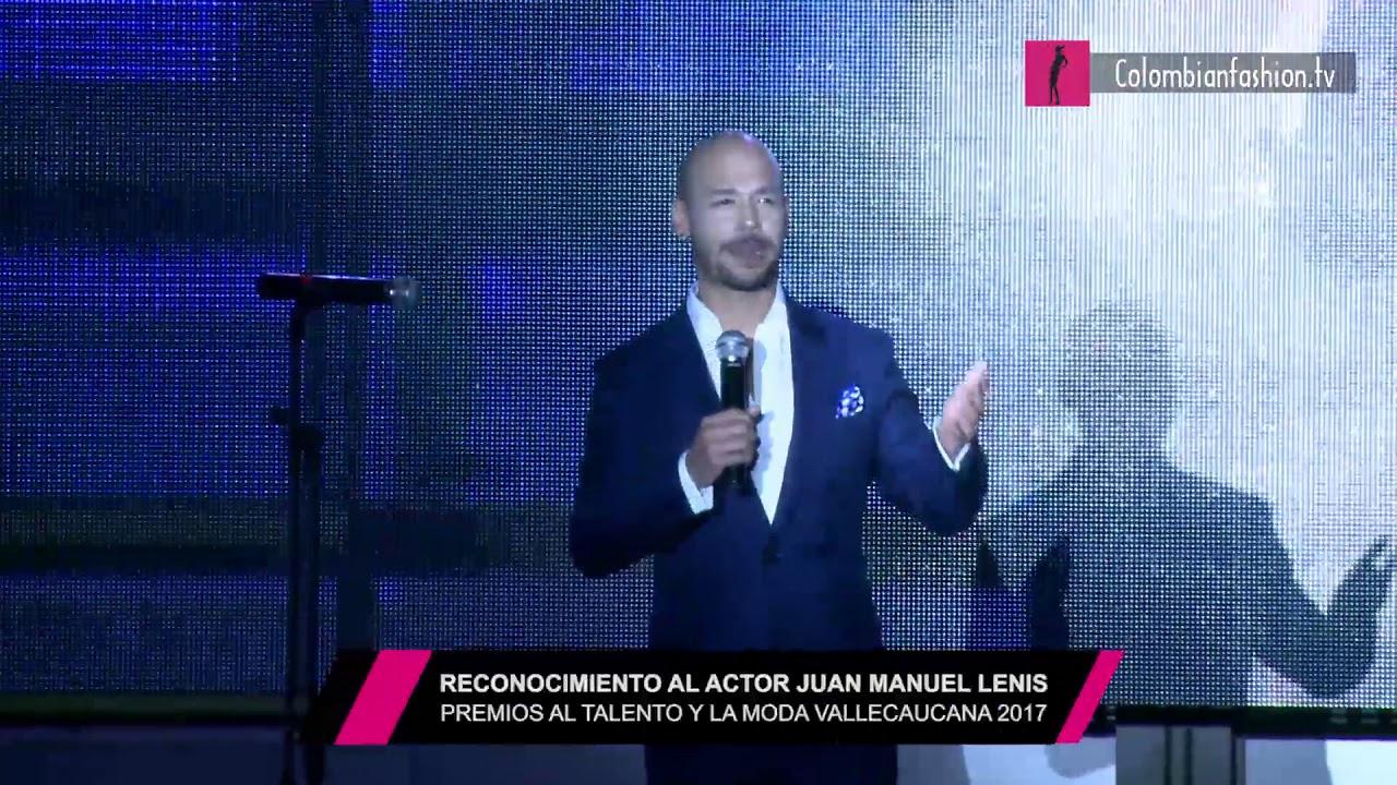 Reconocimiento al actor Juan Manuel Lenis