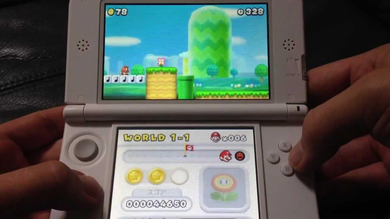 New Super Mario Bro 2 3ds Unboxing