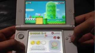 New Super Mario Bros. 2 (Japan 3DS) Unboxing and Gameplay
