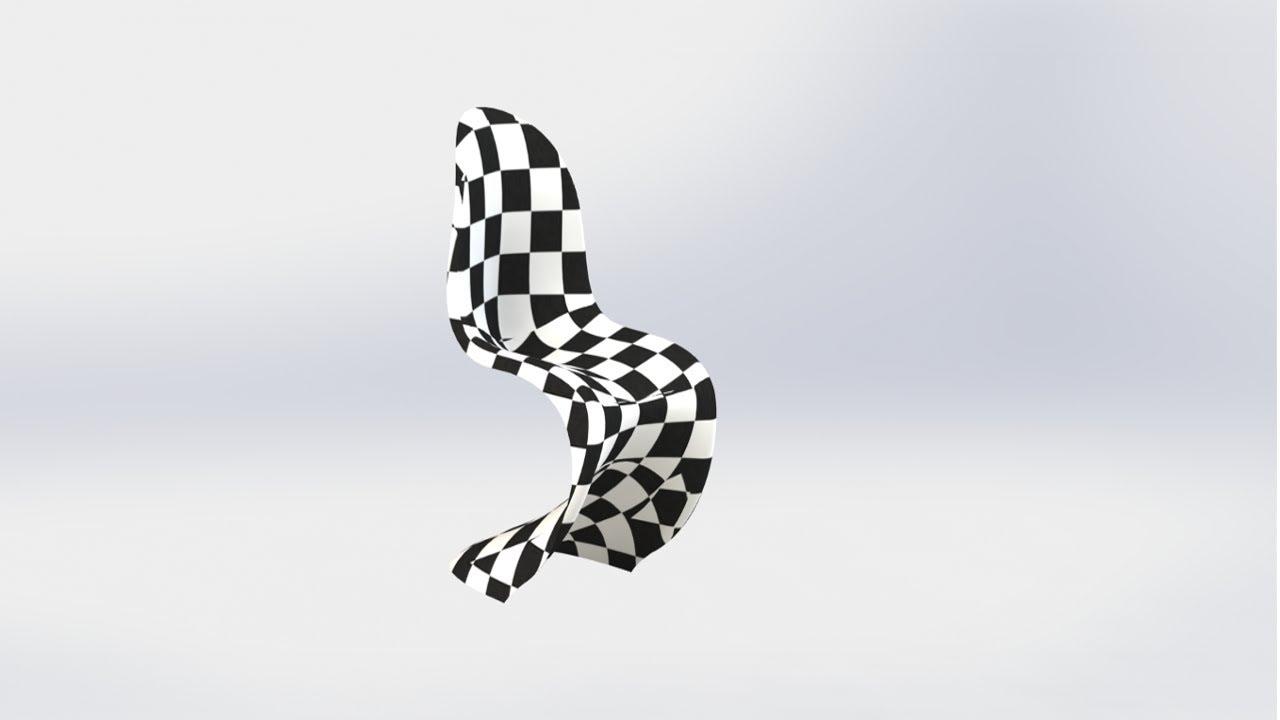 chair design course cover rentals for cheap solidworks online designing a panton s spline pierce picture sketch loft 3d