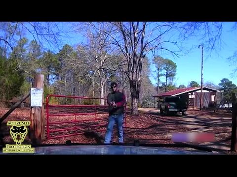 Deputy Ambushed by Man Wielding Pistol Shotgun   Active Self Protection