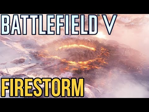 BATTLEFIELD 5 FIRESTORM! NEW BATTLE ROYALE / Xbox One X thumbnail