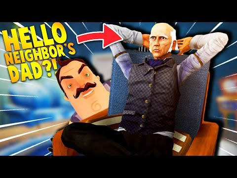DID WE FINALLY FIND HELLO NEIGHBOR'S DAD?! | Hello Neighbor Mobile Ripoff Games