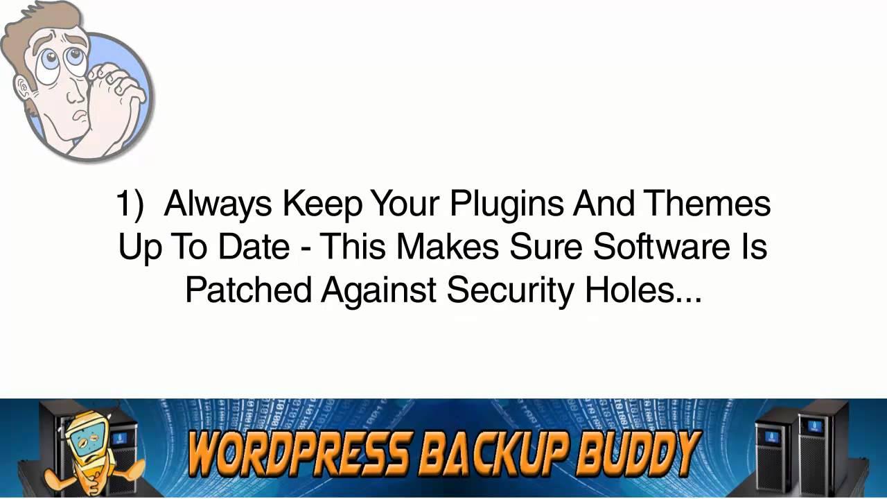 WordPress Backup Buddy |