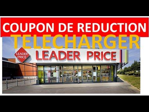 Coupons De Reduction Leaderprice 10 Euros Par Tranche De 50 Euros D Achat Youtube
