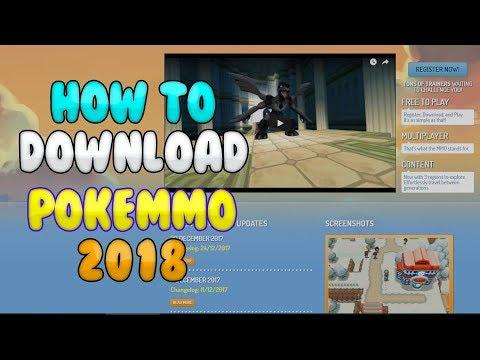 PokeMMO 2018 Download W/Roms