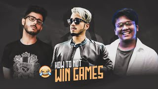 How To *Not* Win Games With @CarryMinati & @Gareebooo | Funny Highlight 😂