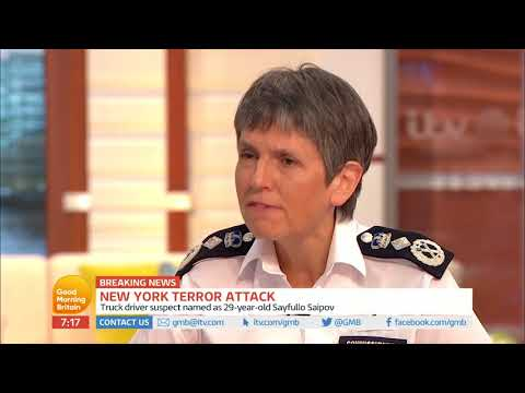 Cressida Dick Comments on Arming the UK Police Force | Good Morning Britain