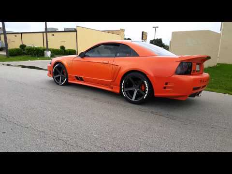 Nitto Tires With White Lettering >> Saleen With Nitto F1 Tire Roll Up Youtube