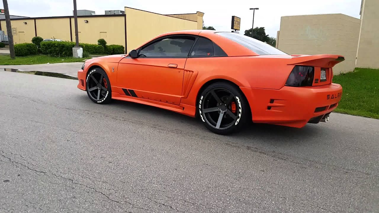Saleen With Nitto F1 Tire Roll Up Youtube