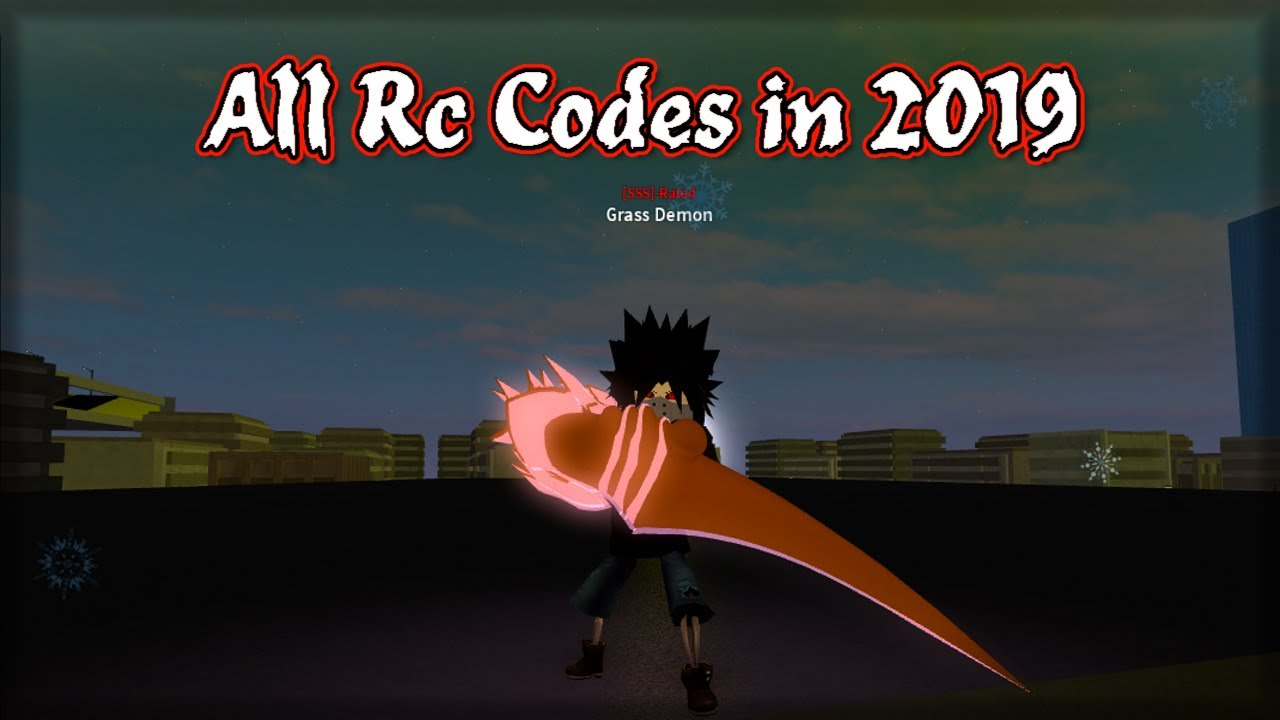 Ro-Ghoul - All Rc cells Codes in 2019! (Roblox)