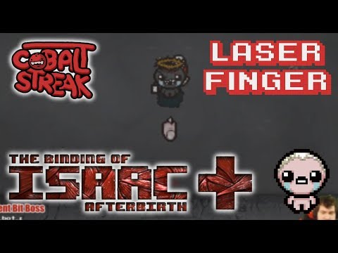 Afterbirth+ Eden Streaks: 9-0 - Laser Finger - Cobalt Streak