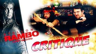 CRITIQUE - RAMBO LAST BLOOD - Avec ET sans spoil (spoilers à partir de 8:45)