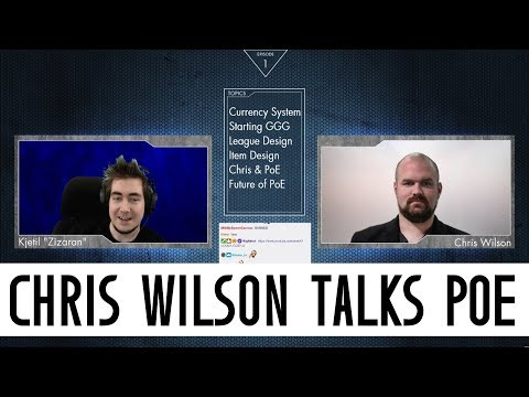 Path of Exile - Chris Wilson answers questions about PoE with Zizaran