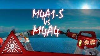 M4A1-S VS M4A4 (nerf M4A1-S)   CS:GO   Muit0