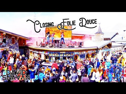 Closing La Folie Douce - Val D'Isere
