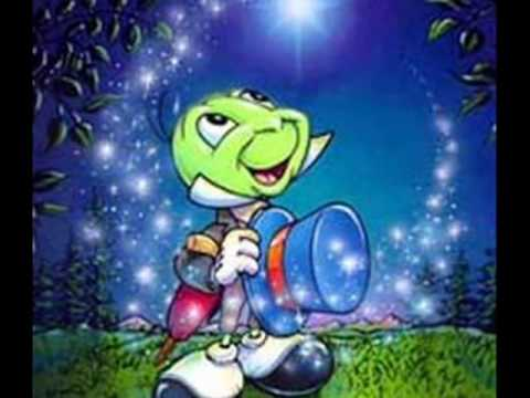 When You Wish Upon A Star - sung by Jiminy Cricket (Cliff Edwards)