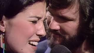 Kris Kristofferson and Rita Coolidge Help me make it through the night live 1972