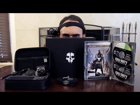 Call Of Duty: Ghosts Prestige Edition Unboxing!