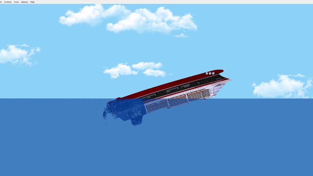 Ms Poseidon 2006 Sinking Floating Sandbox 1 11 1 Youtube