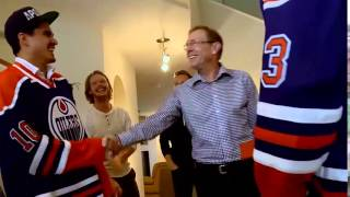 Talbot & Yakupov Deliver Oilers Tickets