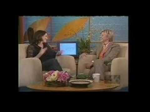 Jorja Fox on Ellen DeGeneres