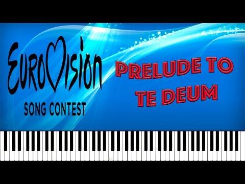 Prelude to Te Deum in C (Eurovision Theme) - (Tutorial Piano Midi Sheet Music Free)