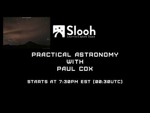 Practical Astronomy with Paul Cox