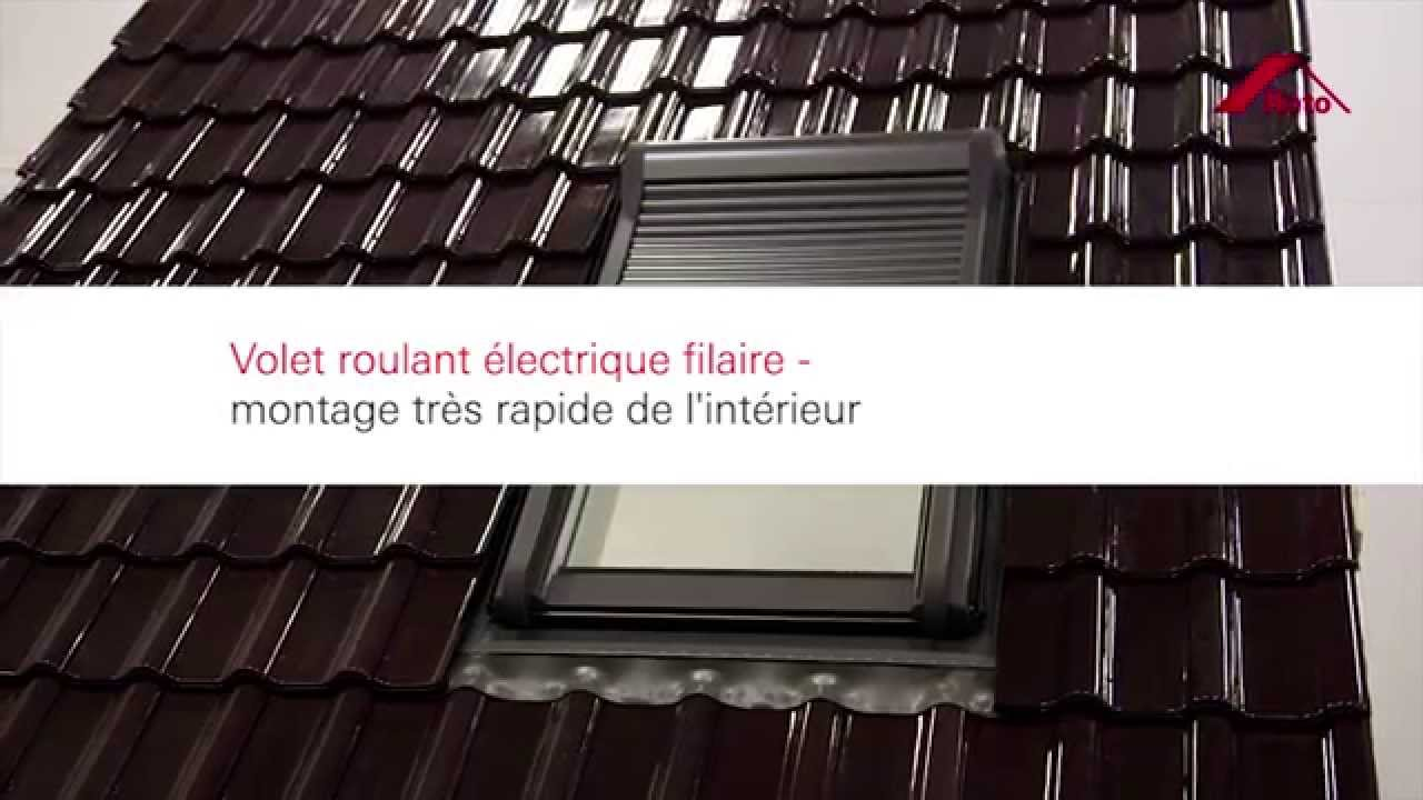 video montage volet roulant velux solaire. Black Bedroom Furniture Sets. Home Design Ideas