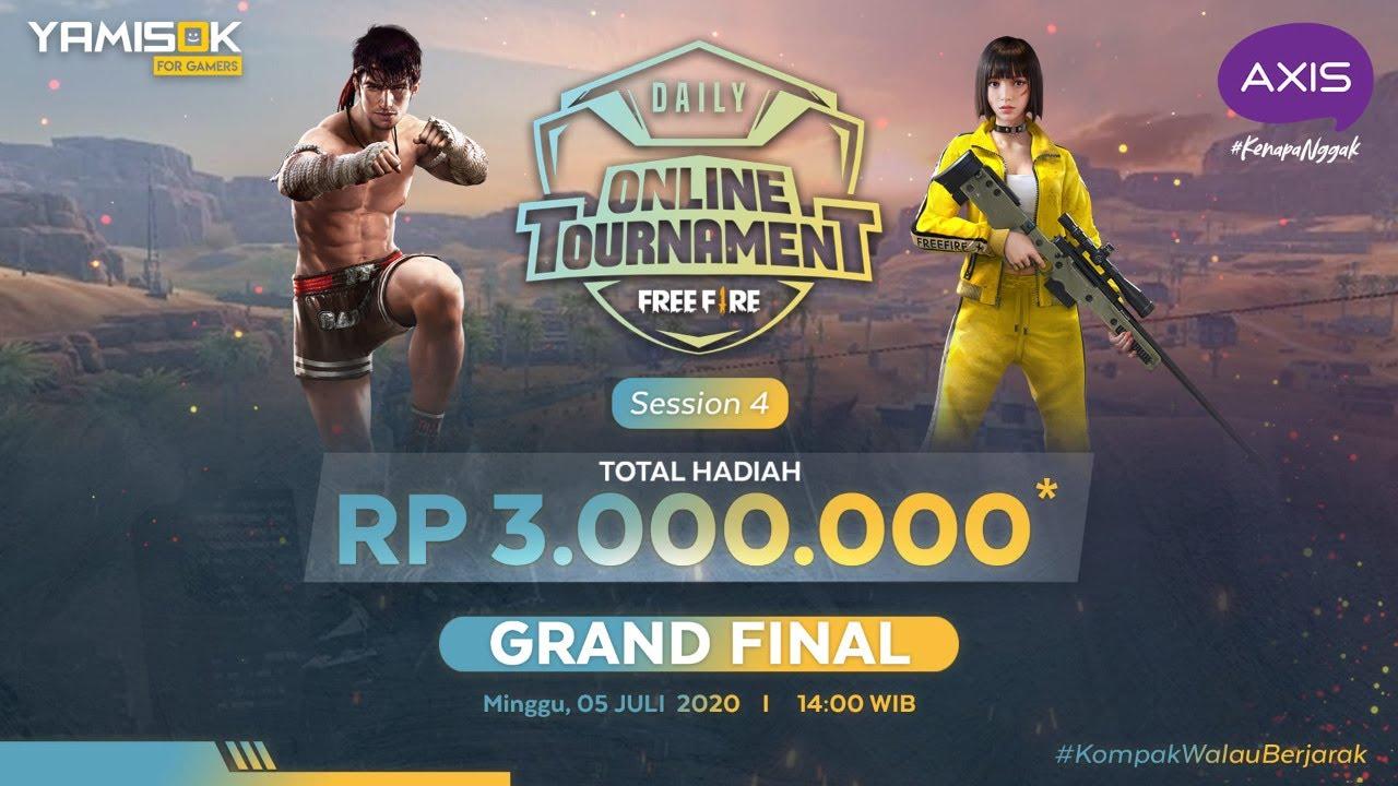 [LIVE] Axis Daily Tournament Free Fire #4 Grand Final | 05 Juli 2020