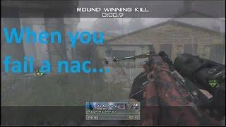 When you fail a nac...