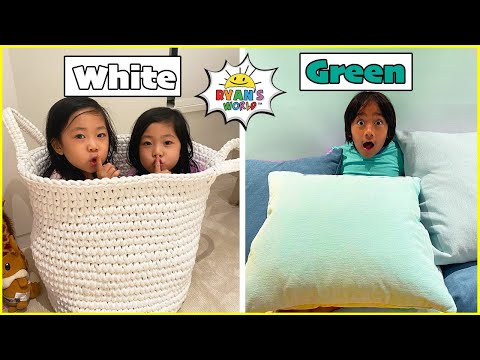 Hide and Seek in your color and more 1 hr kids pretend play!