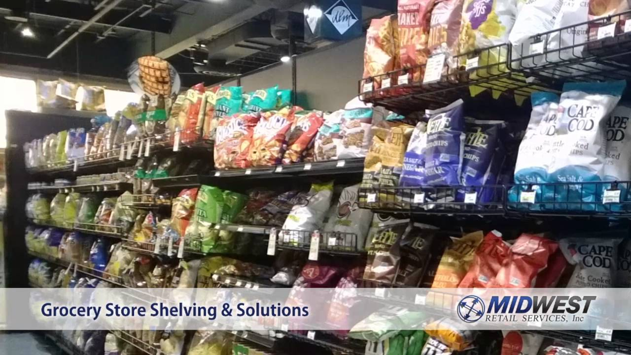 Store Shelving Grocery Stores Midwest Retail Services