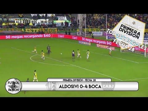 TODOS LOS GOLES: Primera División 2017 - Fecha 28