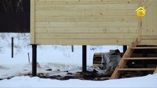 видео Установка свай под фундамент постройки: особенности технологии