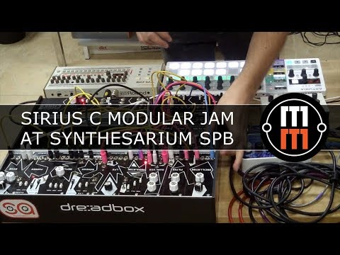 Sirius C Modular Jam at Synthesarium SPb