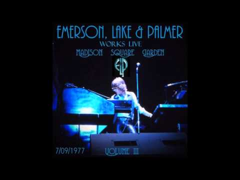 Emerson, Lake & Palmer (ELP) Live at MSG 7/09/1977 WITH ORCHESTRA.