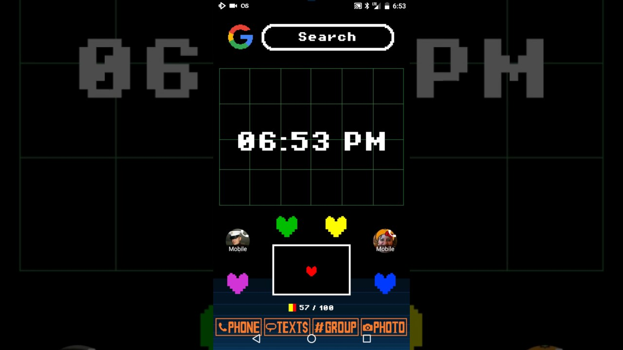 Undertale Android live wallpaper - YouTube