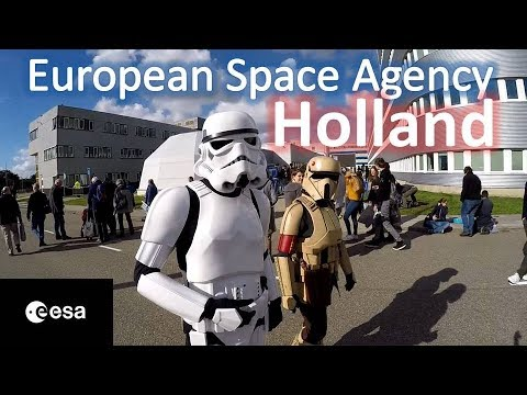ESA : European SPACE Agency - Holland. DUTCH IN SPACE!