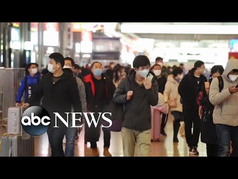 China reports nearly 15,000 new cases of coronavirus l ABC News