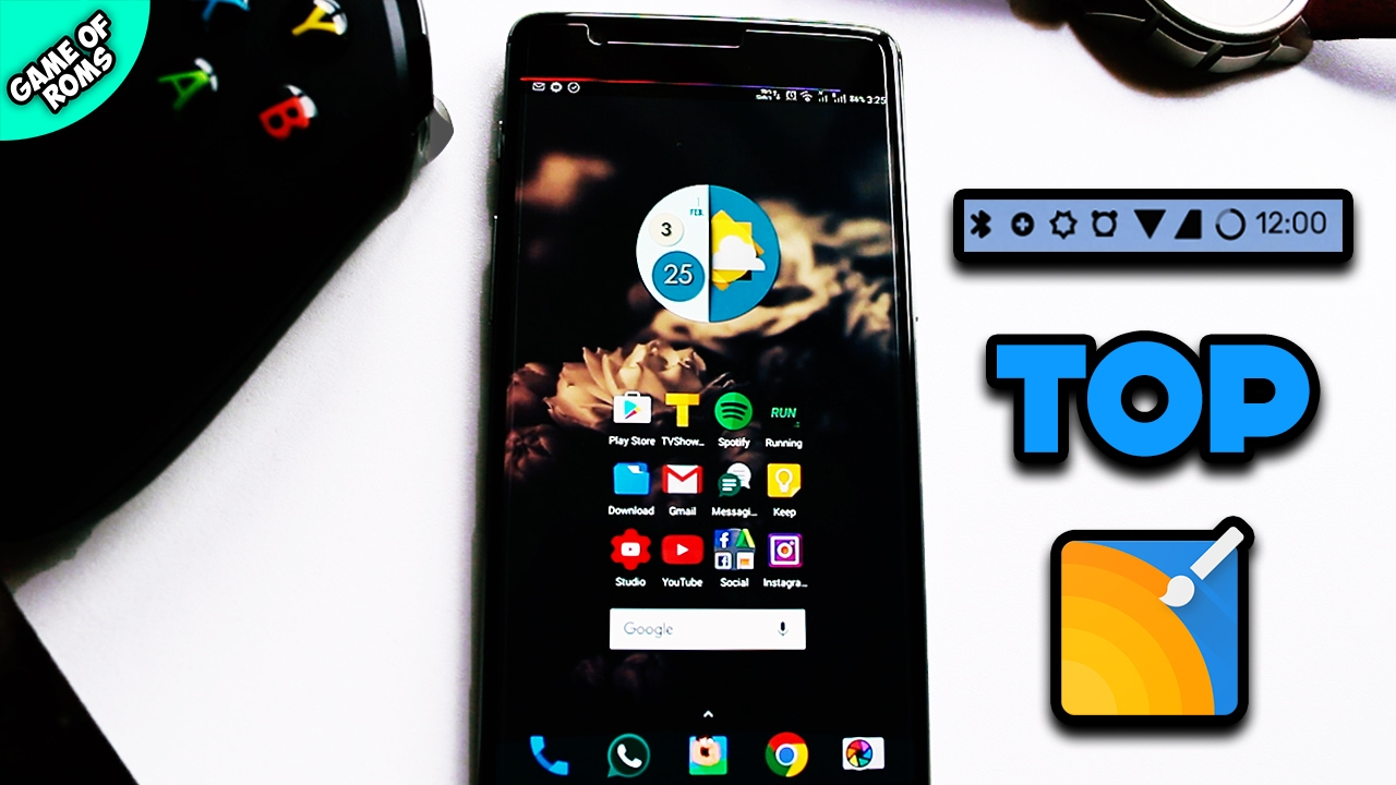 Gmail themes for mobile - Top Substratum Themes 2017 Customize Android Like A Boss