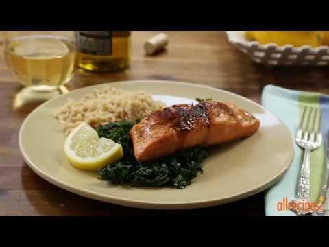 How to Make Salmon with Brown Sugar Glaze | Salmon Recipes | Allrecipes.com