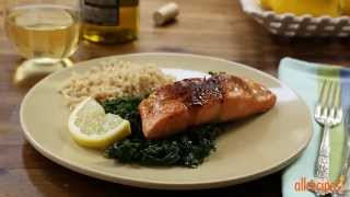 Salmon Recipes - How To Make Salmon With Brown Sugar Glaze